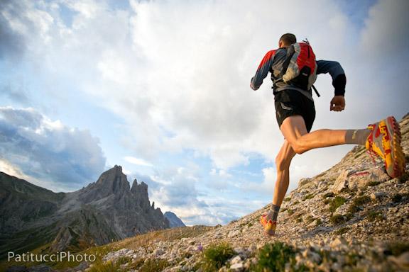 Trail running in the Italian Dolomites